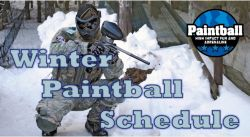 Winter Paintball Games-picture