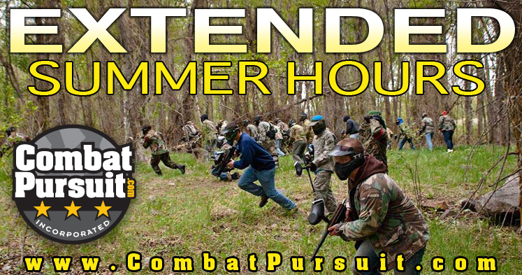 Extended Summer Paintball Hours