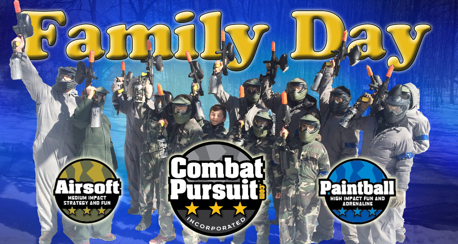Paintball family day