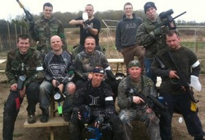 Private Paintball Party