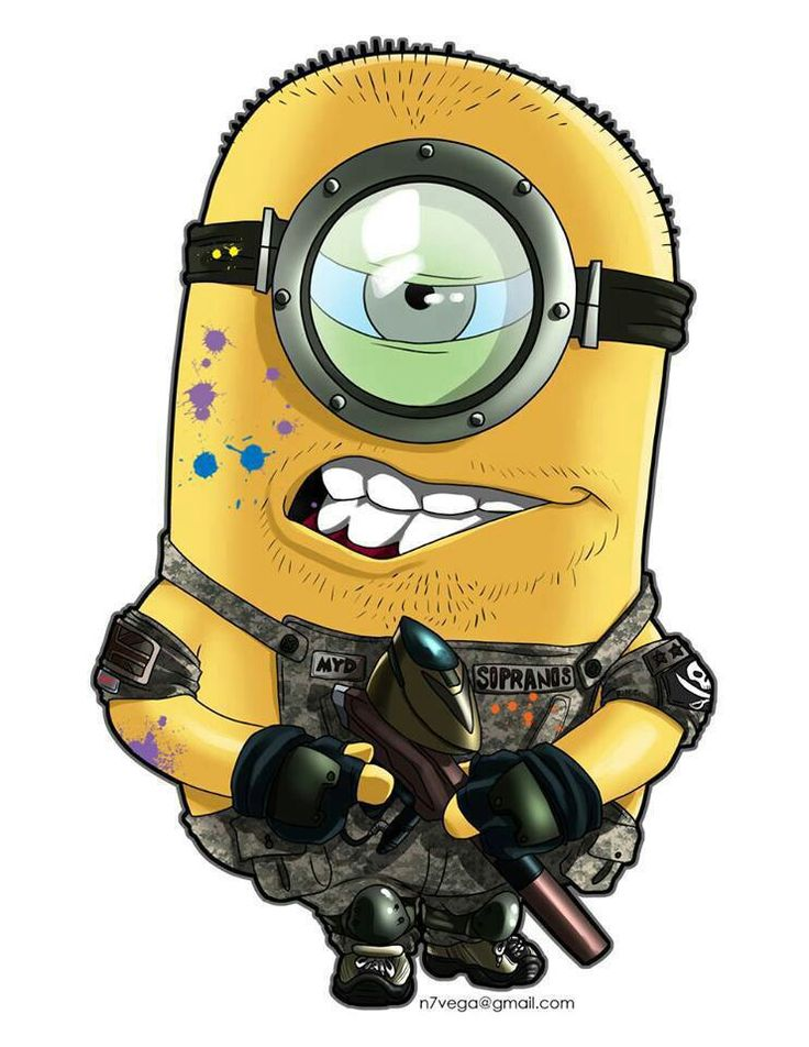 Minion Paintballer
